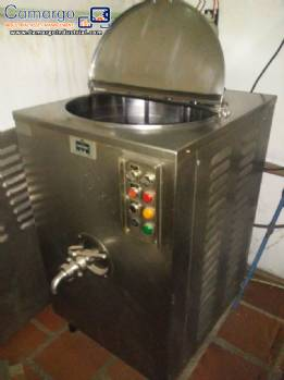 Pasteurizer for ice cream Inadal