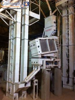 Rice processing machine Zaccaria