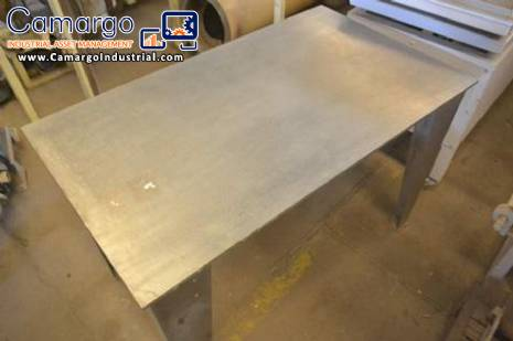 Stainless steel table for cooling candies and sweets