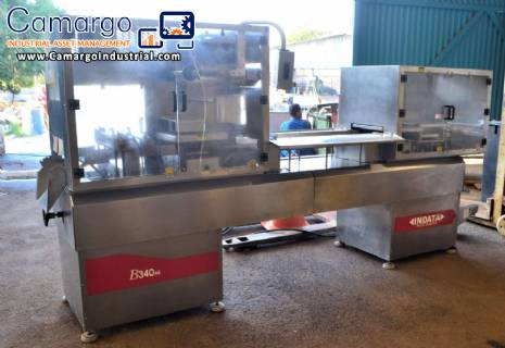 Automatic thermoformer for food trays