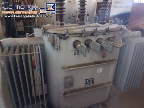 Electric oil transformer 500 kva WEG