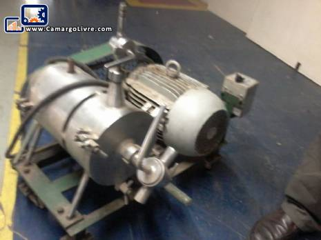 Homogenizadora high shear pump