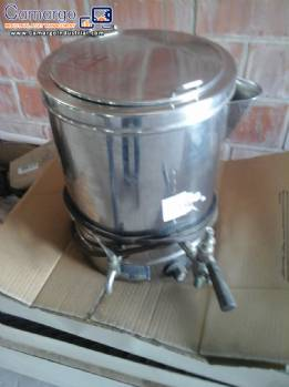 Pot Bain Marie in stainless steel