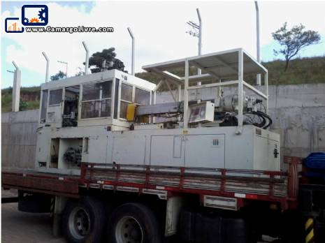 Injector/PET preform mold with injection and 4 blow 20