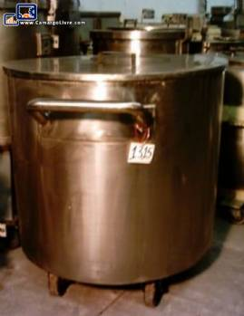 316 stainless jacketed tank