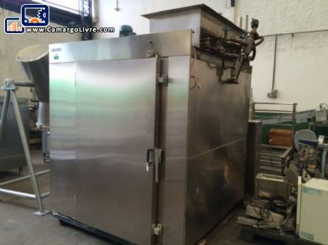 Industrial steam stove Baumer