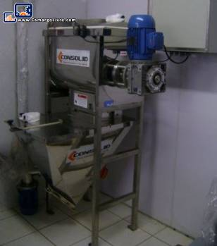 Industrial mixer for 200 kg dust per hour-Consolid Manufacturer
