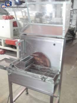 Chocolate enrobing machine Piróg