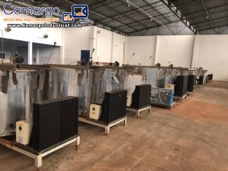 Milk cooling tanks Kleber Weber