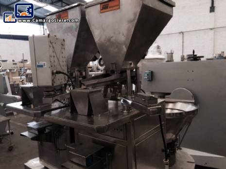 Semi automatic filler powder and grains - N