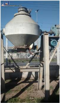 Industrial double cone mixer