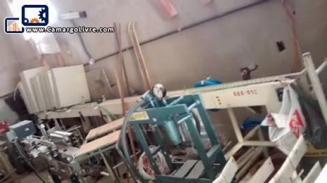 Conveyor belt for small materials