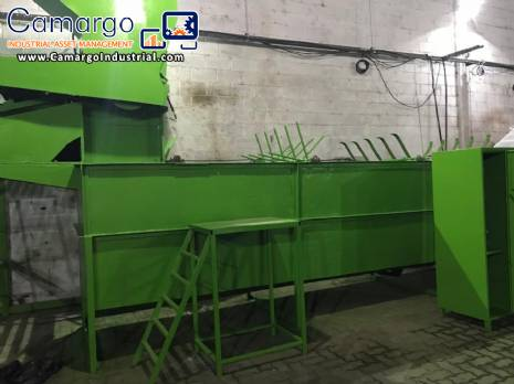 Plastic recycling mill 500 kg