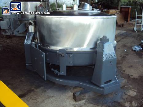 Stainless steel basket centrifuge Pana