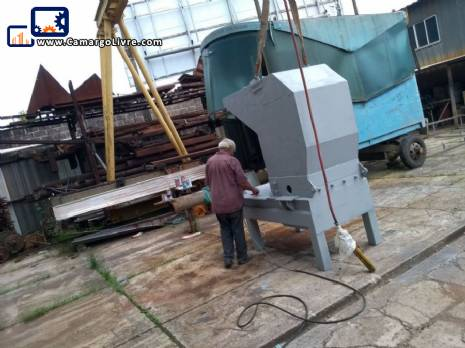 Mill for recycling plastics 40 hp