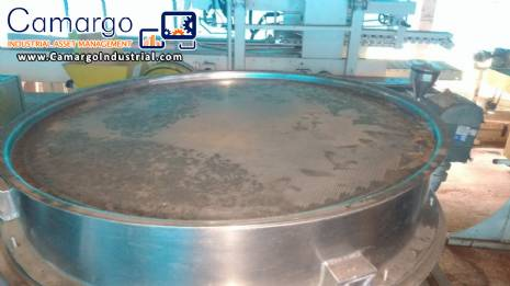 Stainless steel vibrating screen