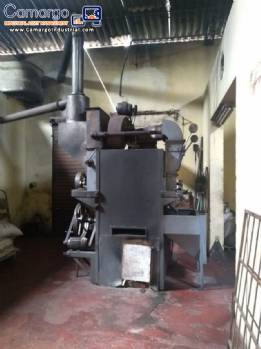 Industrial coffee roasting 190 kg / h
