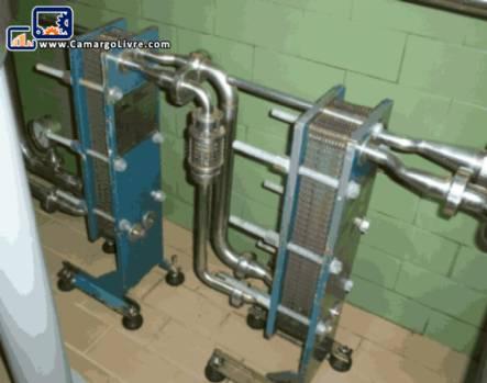Cooling plates Inbrasmetal