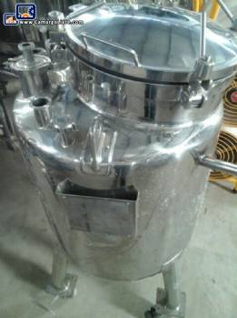 Transfer tank 316 stainless steel for 140 liters Inoxil