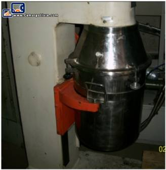Stainless steel industrial mixer INCO