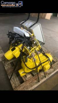 Hoist with electric trolley Climber