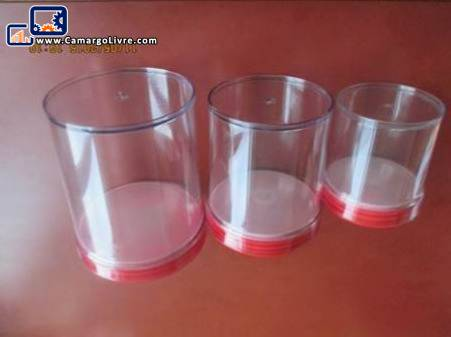 Moulds for special airtight jars set