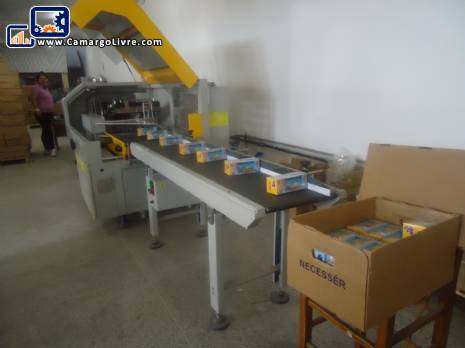 Flow pack wrapping machine automatic brand Gmg