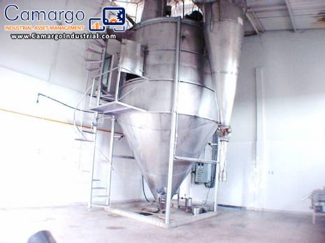 Spray Dryer to 800 L hour Galaxie