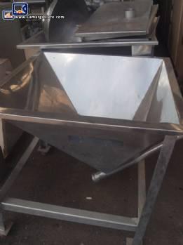 Stainless steel silo  Alimflex