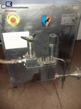 Homogenization pump 500 liters per hour Mark Niro Soave