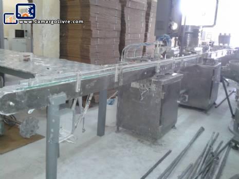 Manufacturing line liquid