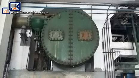 Steam boiler Babock