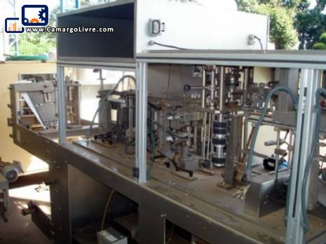 Packaging / filling Stand up Pouch Rovema