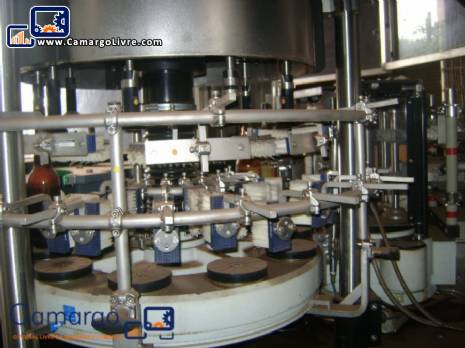 Machine for labeling beers Krones Universella