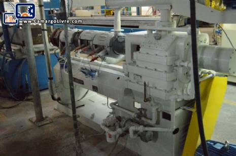 Extruder with double thread Miotto