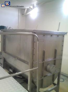 Ribbon Blender stainless steel 400 L