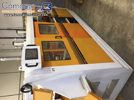 Vacuum thermoforming machine Benda