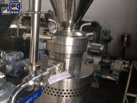 Vertical colloidal grinder
