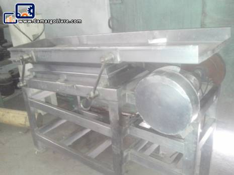 Vibrating screen in stainless steel