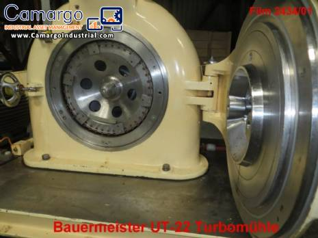 Universal mill in stainless steel Bauermeister