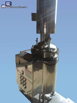 Pressure reactor for 200 liters in stainless steel