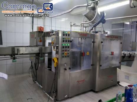 Rotary filling machine Mesal