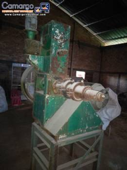 Soybean extruder Green