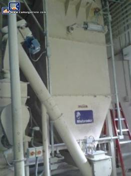 System for receipt storage and transport of flour Brasilos