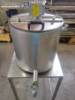 Tank for melting chocolate 40 L