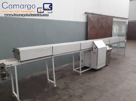 Cooling tunnel for chocolates Cacautec