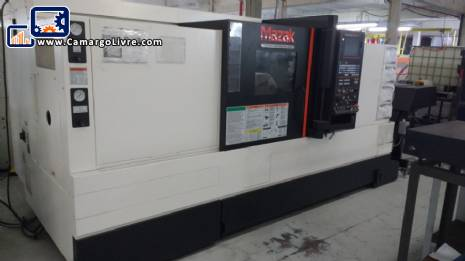 Horizontal lathe Mazak Quick Turn Smart 350