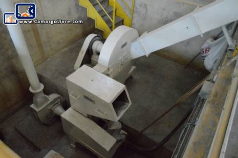 Grinding mill for PVC 200 kg Seibt